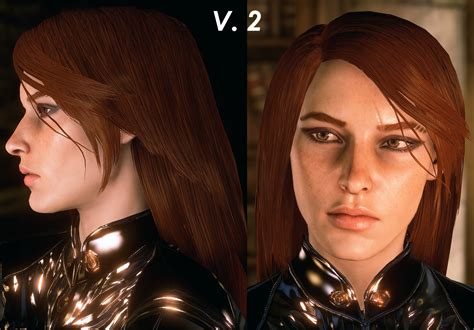 dragon age inqusition black hair straight long hair for female human at dragon age