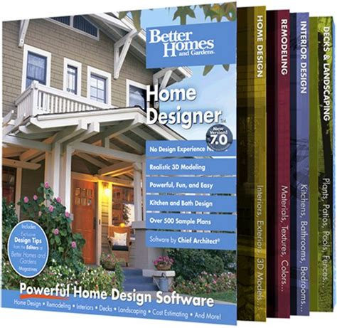 better homes and gardens home designer 7 0 version