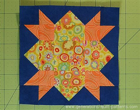 Morning Quilt by Morning Quilt Block Pattern In 4 1 2 Quot 6 Quot And 9 Quot Sizes