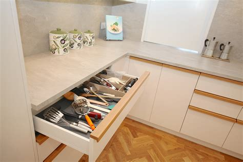kitchen drawer repairs auckland reconfigured custom kitchen and laundry in st heliers