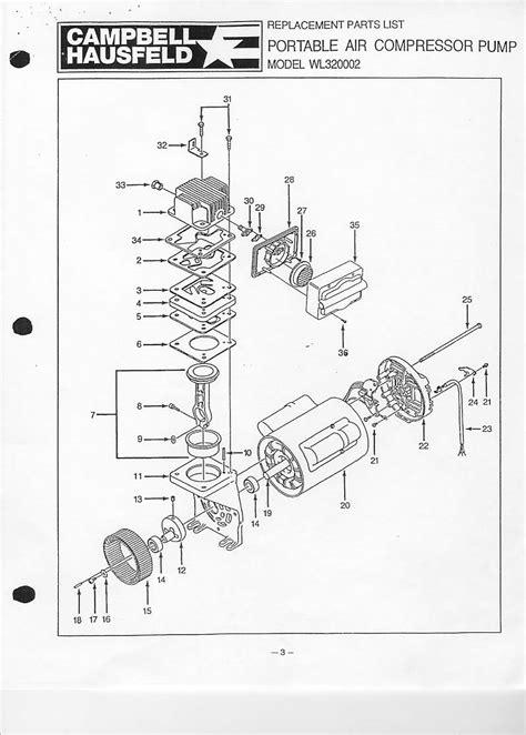 cbell hausfeld wl320002 wl320002aj parts