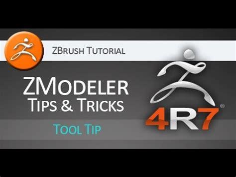 zbrush tutorial español youtube zbrush 4r7 tutorial zmodeler tips tricks youtube