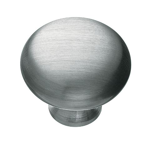 Silver Kitchen Knobs by Shop Kraftmaid Silver Cabinet Knob At Lowes