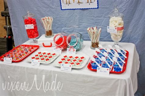 health themed events medical party vixenmade parties