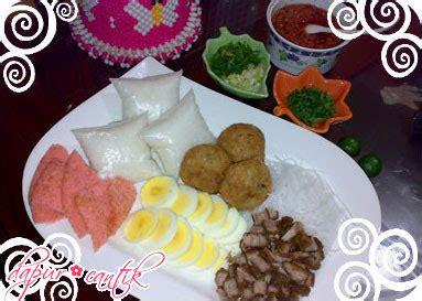 Cetakan Kerupuk Lontong soto padang meriah koleksi resep unik dapur cantik