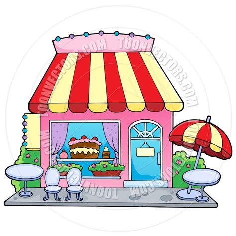 Cartoon Bakery Shop by clairev   Toon Vectors EPS #37480