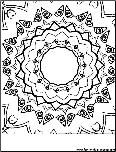 sketches of random things coloring pages