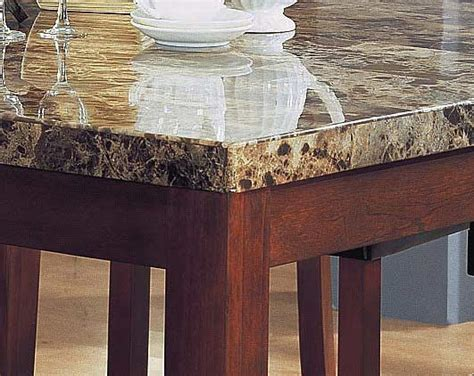 Marble Top Bar Height Table by Marble Top Square Counter Height Table Bar