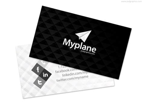 100 free psd business card templates