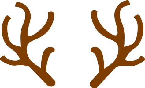 rudolph ears clip art at clker com vector clip art