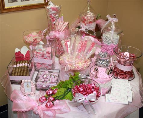 baby shower buffet baby shower candy buffet sayings add pink bubble gum