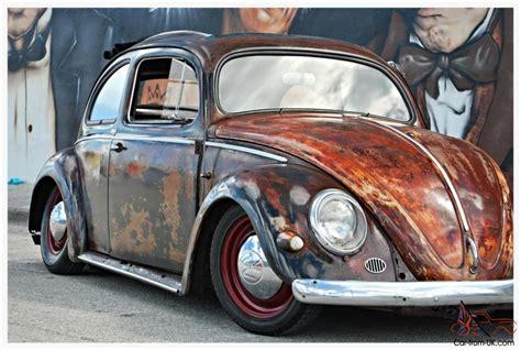 Rat Rod Volkswagen by Oval Window Factory Ragtop 1955 Vw Beetle Custom Rat Rod
