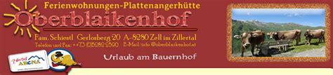 hütte vermieten oberblaikenhof gerlosberg zillertal arena zell im