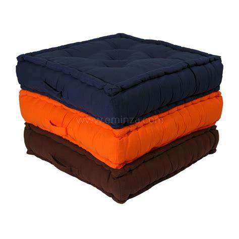 grand coussin grand coussin de sol 60 cm etna bleu marine coussin de sol et pouf eminza