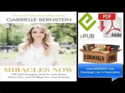 Pdf Miracles Now Changing Finding Purpose miracles now 108 changing tools for less stress more