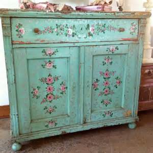 shabby chic blue furniture via ashwell no stress distress while painting