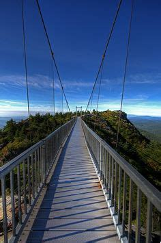 bridge swinging in wind 1000 images about grandfather mountain on pinterest