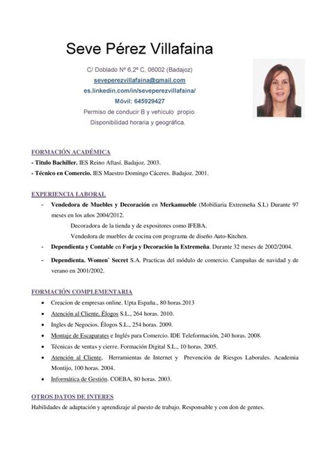 Modelo Curriculum 2014 España Currculum Vitae En Word Modelo Curriculum New Style For 2016 2017