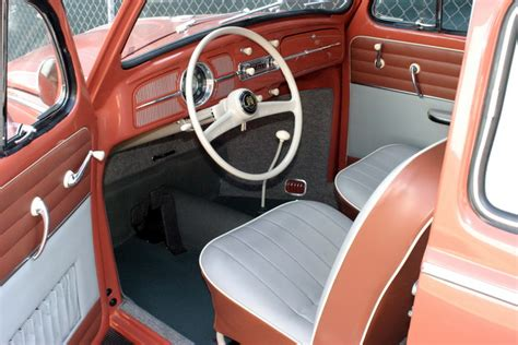 beetle volkswagen interior original style 1958 59 vw beetle interior and upholstery