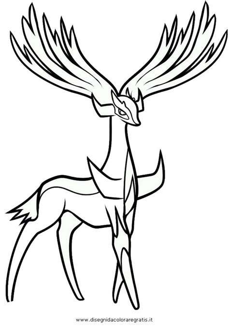 pages xerneas xerneas yveltal colouring pages page 2