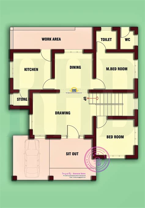 In House Plans by House Plans For 3 Cent Square Plot