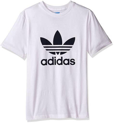 Shirt Logo Adidas adidas originals trefoil t shirt white crewneck