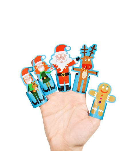 Finger Puppets With Paper - paper finger puppets printable pdf diy craft