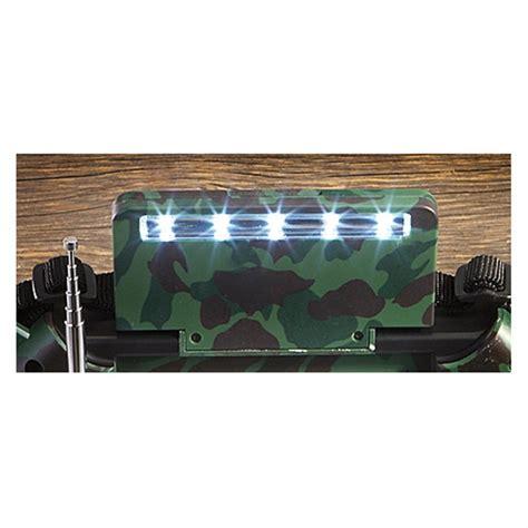 hq issue multi band dynamo solar powered radio 232573