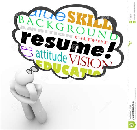resume writing clipart clipartsgram