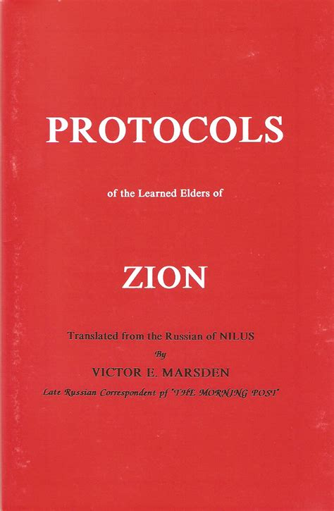the protocols of the learned elders of zion books the protocols of the learned elders of zion