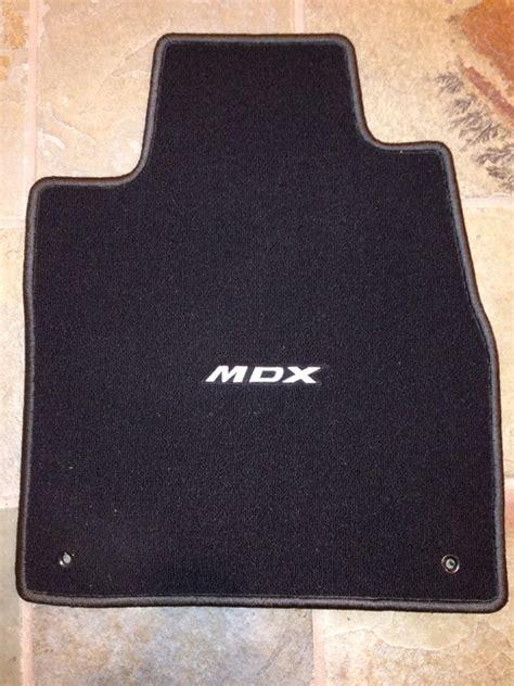 fs acura oem mdx carpet floor mats 2007 2012 acurazine