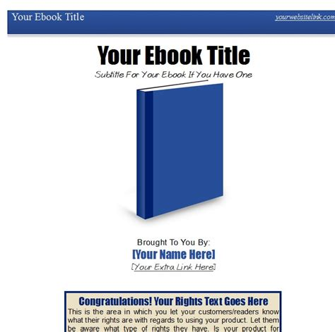 Ez Ebook Template Package 3 Make The Most Out Of Open Office Writer And Pdf Ebook Creation Pdf Ebook Templates