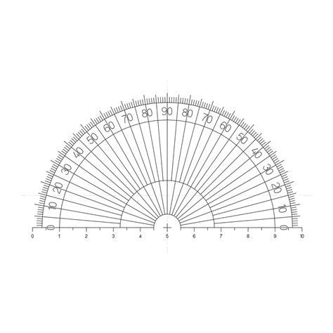 printable protractor half circle circle gauges protractors pyser optics