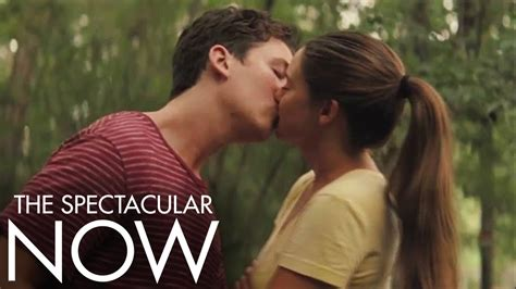 film the spectacular now adalah the spectacular now first kiss official movie clip hd