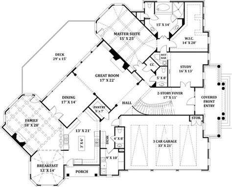 signature home plans traditional floor plan