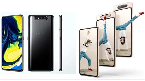 Samsung Galaxy A80 Ki Price by Samsung Galaxy A80 With World S Rotating Launched In India Priced At Rs