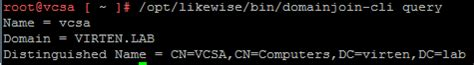 join  vcsa    active directory domain
