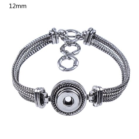 snap jewelry aliexpress buy zb421 sale 2 colors 12mm snap