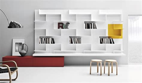 librerie contemporanee librerie di fantasia modulari in stile contemporaneo