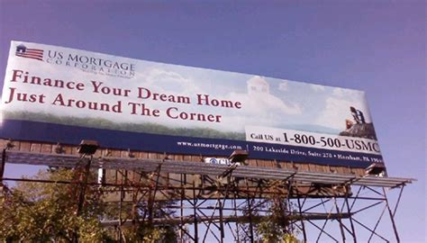 dream house mortgage corporation us mortgage corporation billboard on behance