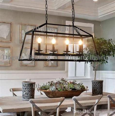 stunning black rectangle chandelier discount retro rustic