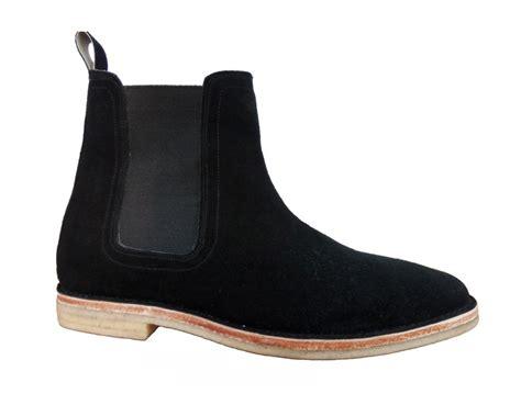 Handmade Chelsea Boots - handmade chelsea boots black color boots crepe sole