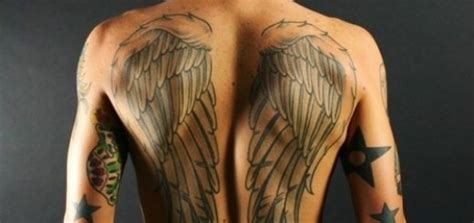 tattoo back man wings 23 latest men tattoo images and pictures