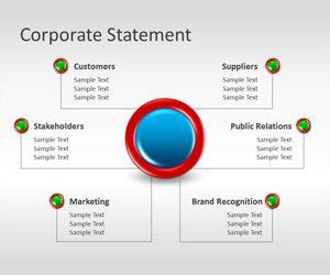 Free Corporate Statement Powerpoint Template Free Powerpoint Templates Slidehunter Com Problem Statement Template Powerpoint