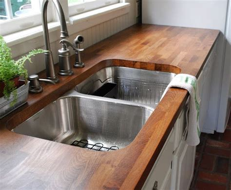 diy wood countertop sealer staining and sealing wood countertops for the home