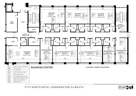 Coach House Floor Plans by City North Hotel Meath Tourism Ireland Accommodation