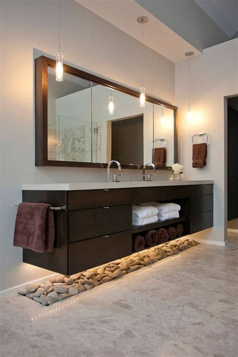 suspended bathroom vanity floating around the house how suspended furniture can add space to your home