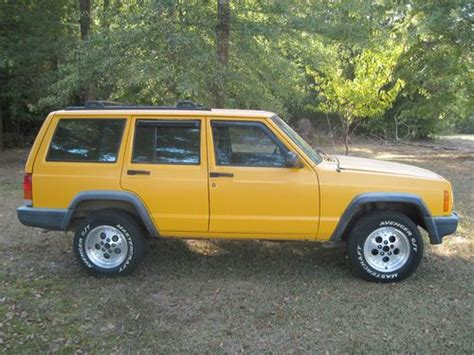 jeep cherokee yellow buy used 2000 right hand drive jeep cherokee in columbus