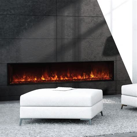 modern flames landscape linear electric fireplace michigan fireplace and barbeque