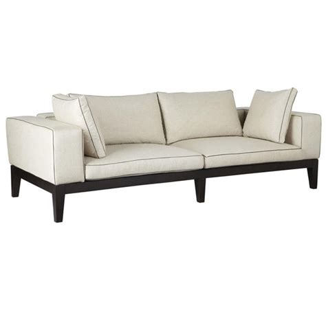 oka sofas manhattan 3 seater sofa wood frame oka